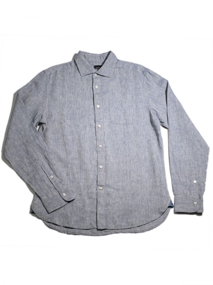 LINEN CHAMBRAY – MIDNIGHT